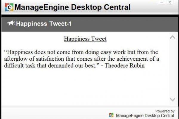 Happiness Tweets
