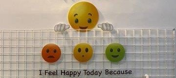 Happiness wall