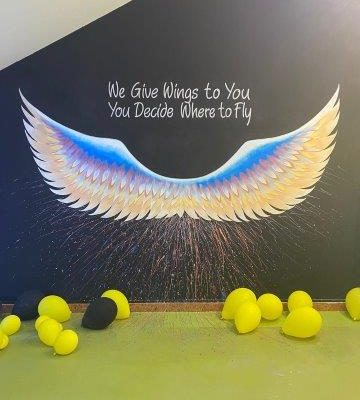 We give you wings