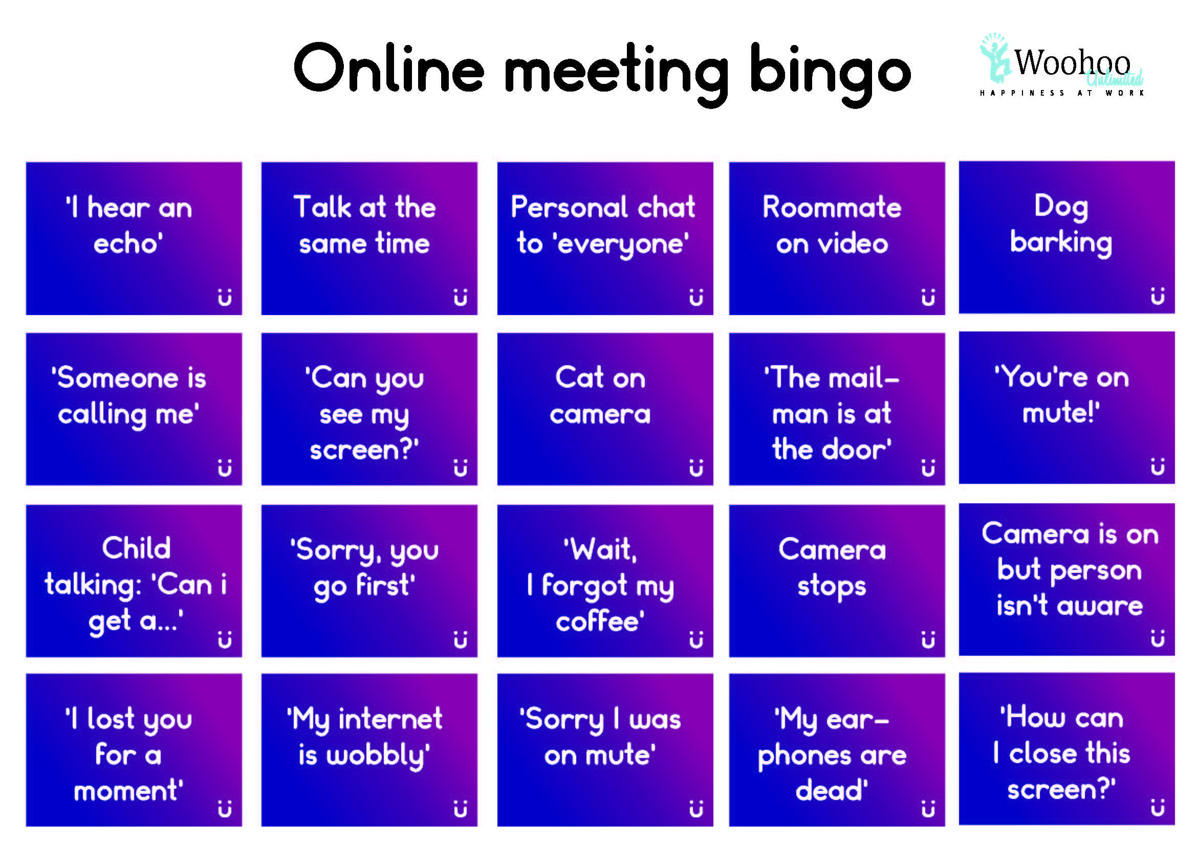 Make your Zoom meetings more fun!