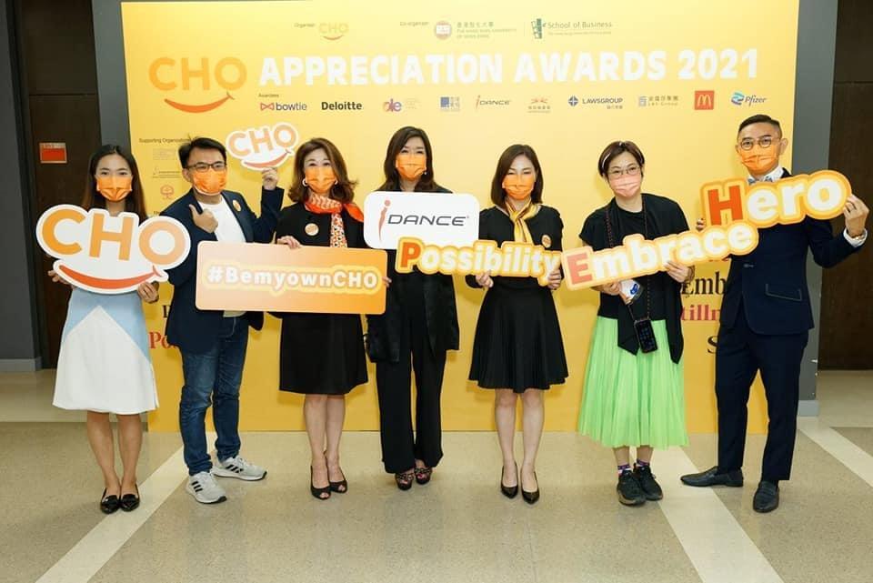CHO appreciation award in HongKong